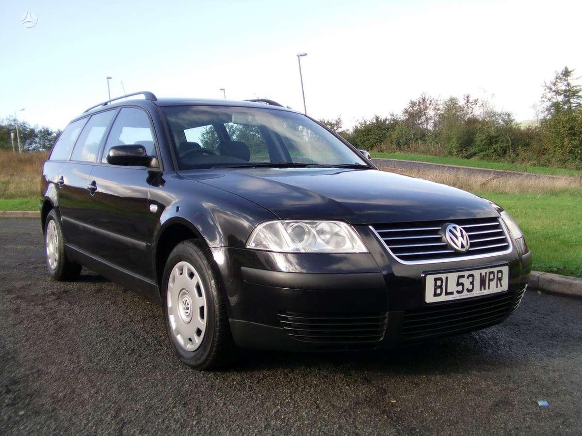 Volkswagen Passat dalimis. 1,9 tdi 74 kw, 85 kw, 96 kw 2,5 tdi