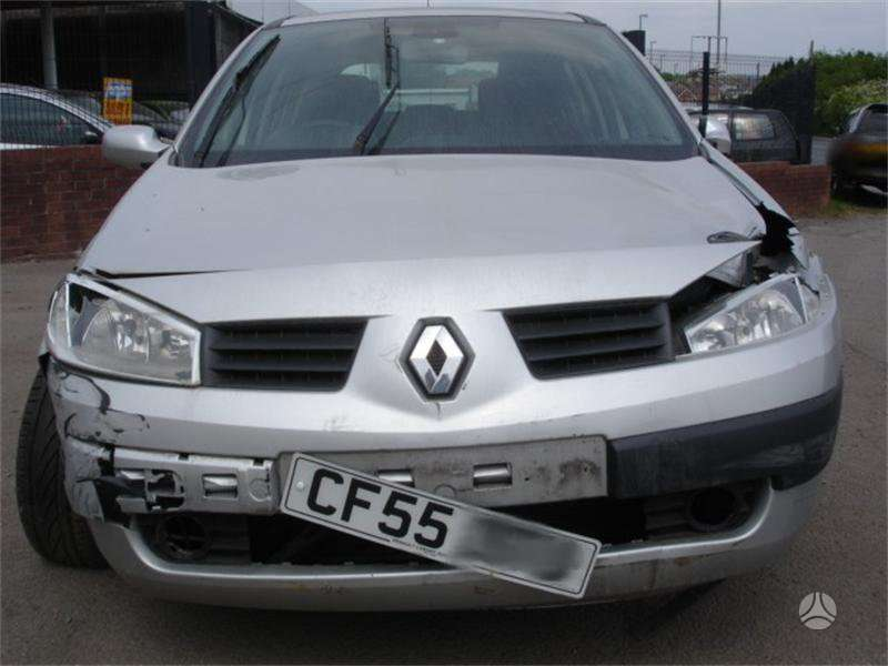 Renault Scenic dalimis. 1,5 dci, starteris is priekio, k9k kodas,