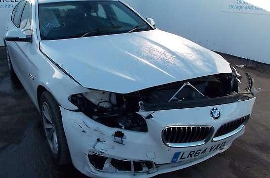 BMW 5 serija. Superkame automobilius su defektais,