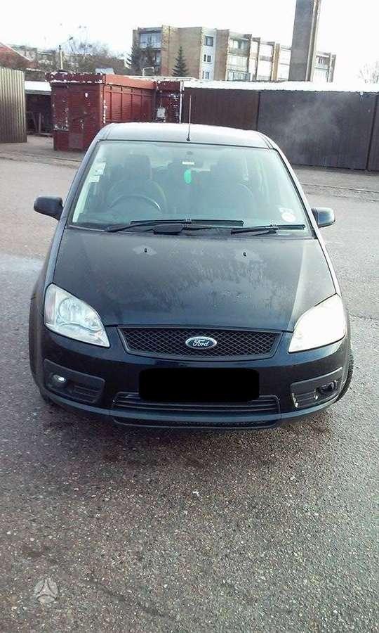 Ford C-MAX. Kablys, r16 originalūs lengvojo lydinio ratlankiai,