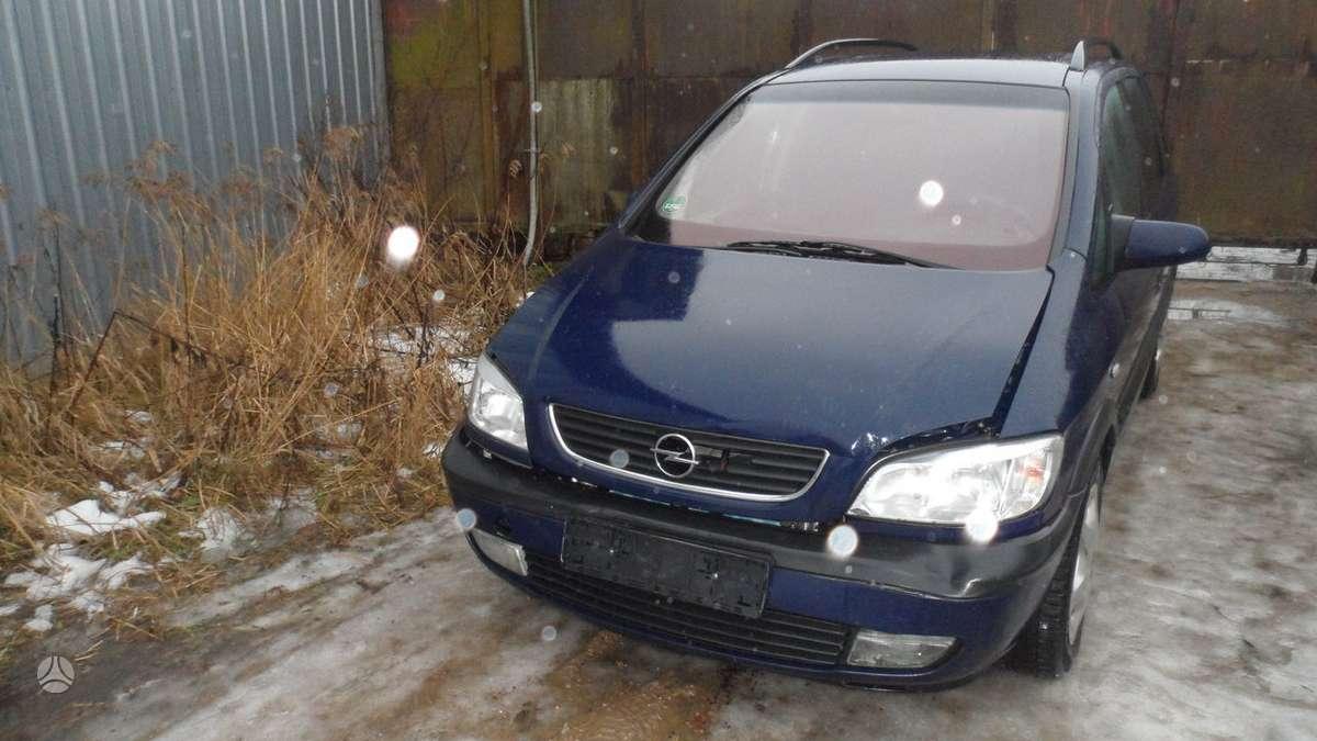 Opel Zafira dalimis. Z18xe