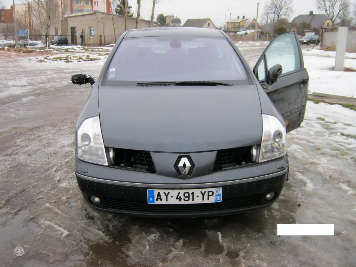 Renault Vel Satis dalimis. R17 ir r18 lieti ratlankiai.turime 3.