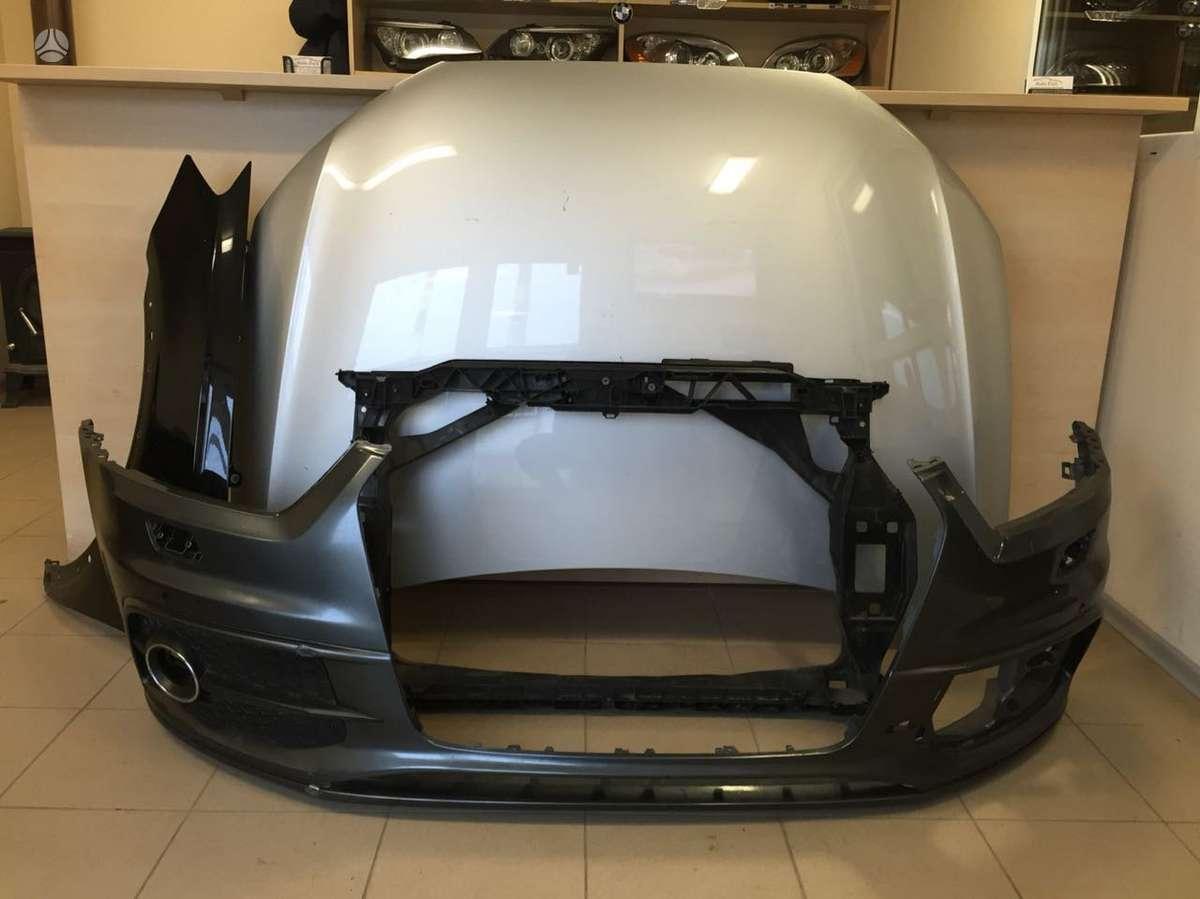 Audi Q3. Kapotas s-line bamperis  atvežame dalis į jums