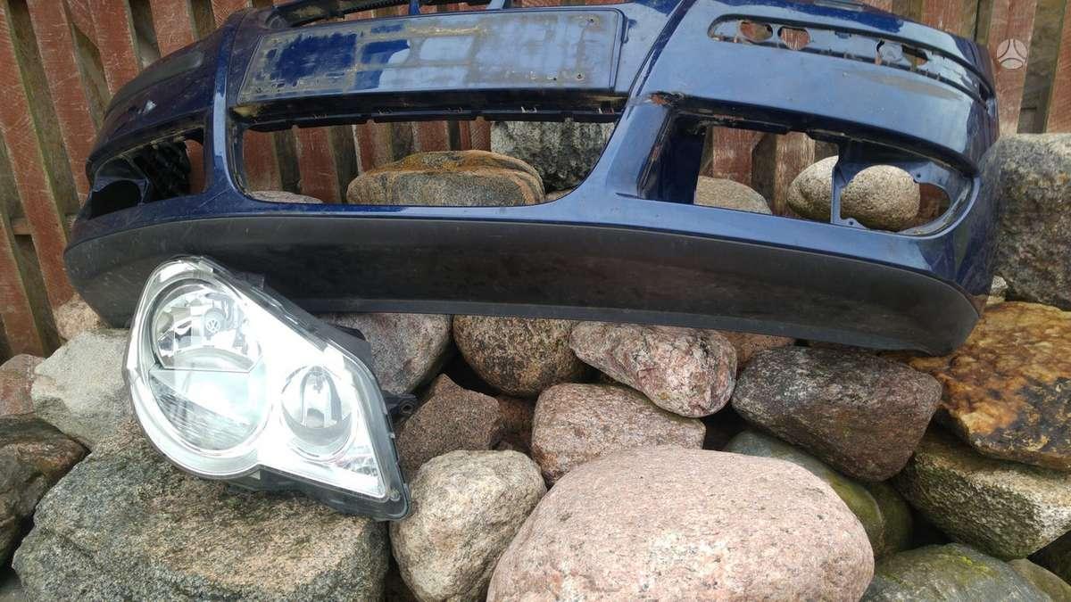 Volkswagen Polo. Pr. buferis, pr. panelė, pr. žibintai, pr.ž