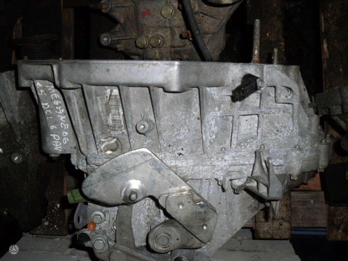 Renault Megane pavarų dėžė