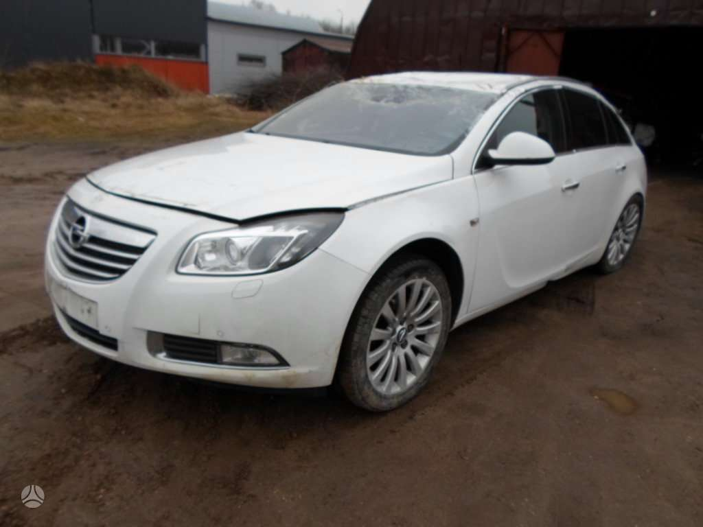 Opel Insignia. Rida 120000 km
