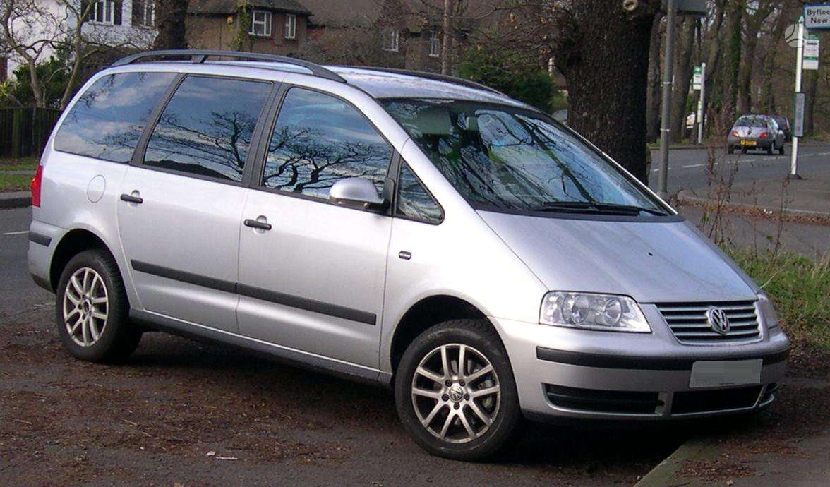 Volkswagen Sharan. Dalimis wv sharan 2002m 1.9 66kw 85kw 96kw