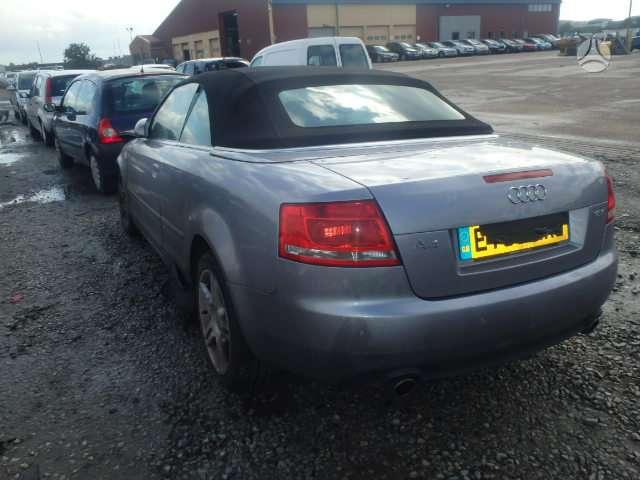 Audi A4. Audi a-4 cabrio 1.8t automatas, variklis ir deze
