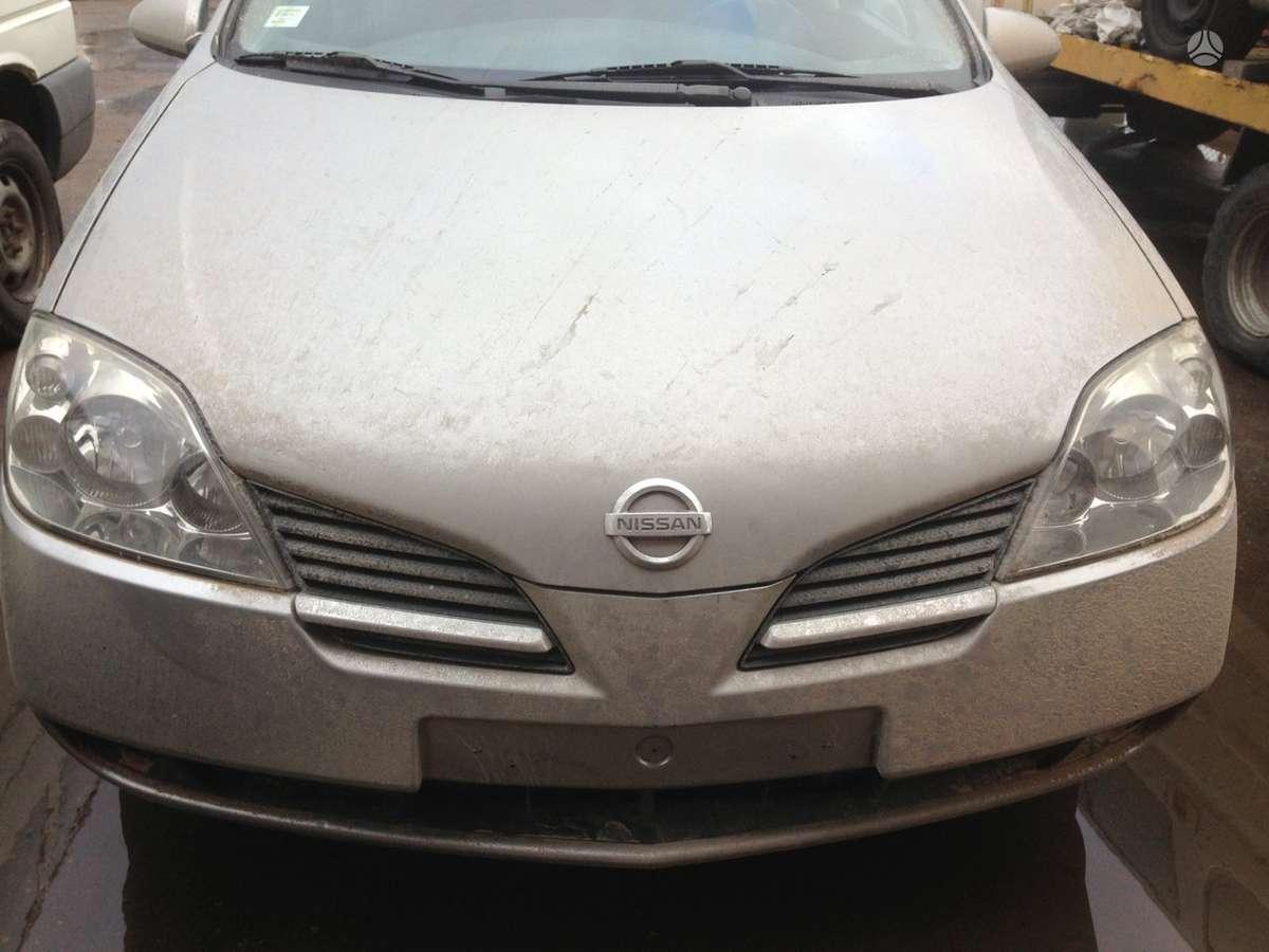 Nissan Primera dalimis. Europa r17 lieti ratai turim ir 2200