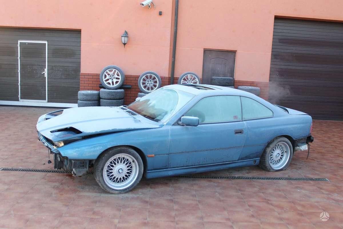 BMW 840 dalimis. Bmw 840ci 1994-1998m. (4.0 ir 4.4 l) bmw 850i