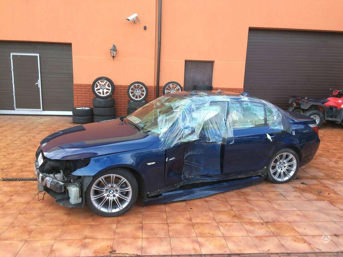 BMW 530 dalimis. Bmw 520i, 520d 525d, 530d, 530i, 535d, 550i, m5