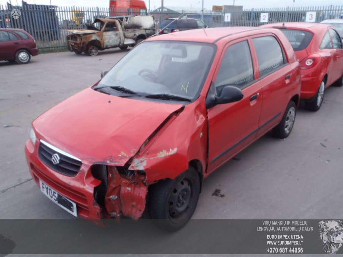 Suzuki Alto dalimis. Automobilis ardomas dalimis:  запасные част