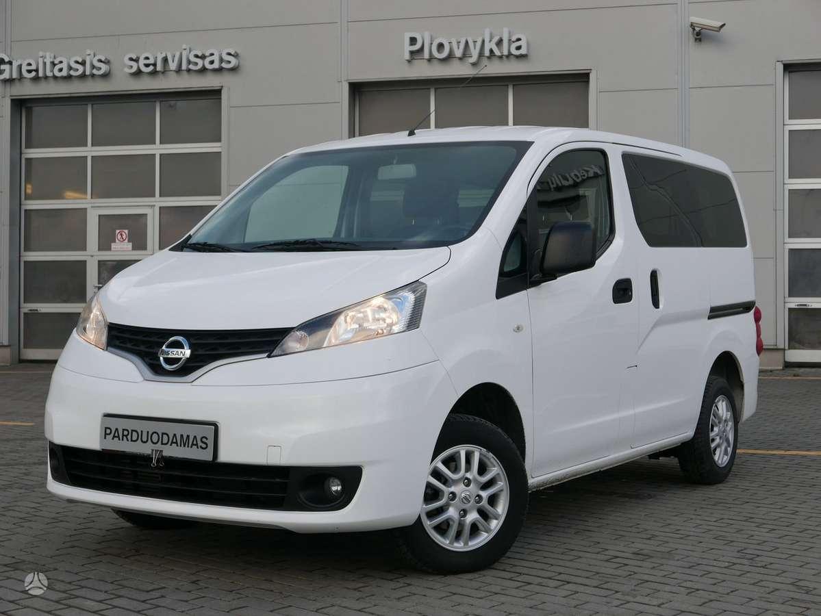 Nissan NV200, 1.5 l., vienatūris