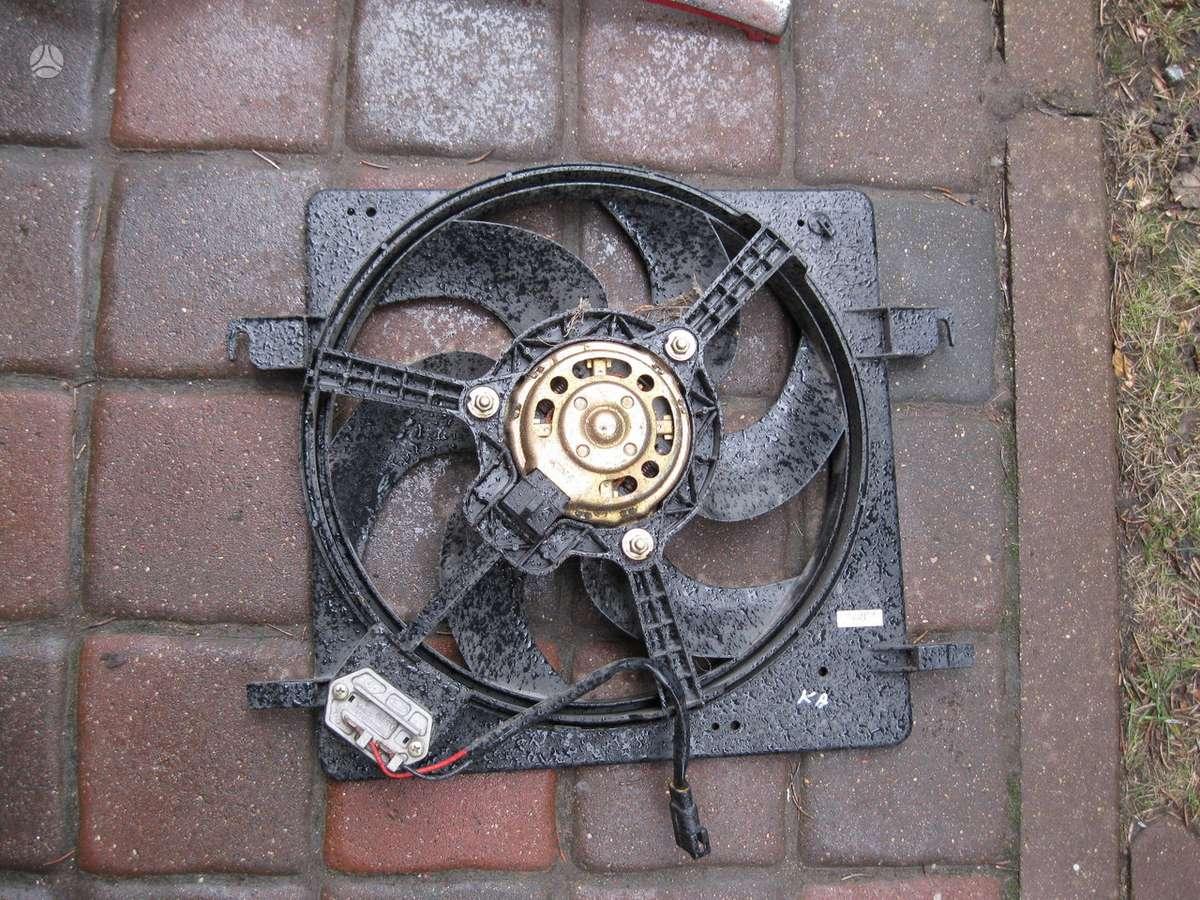 Ford Ka. - ventiliatorius