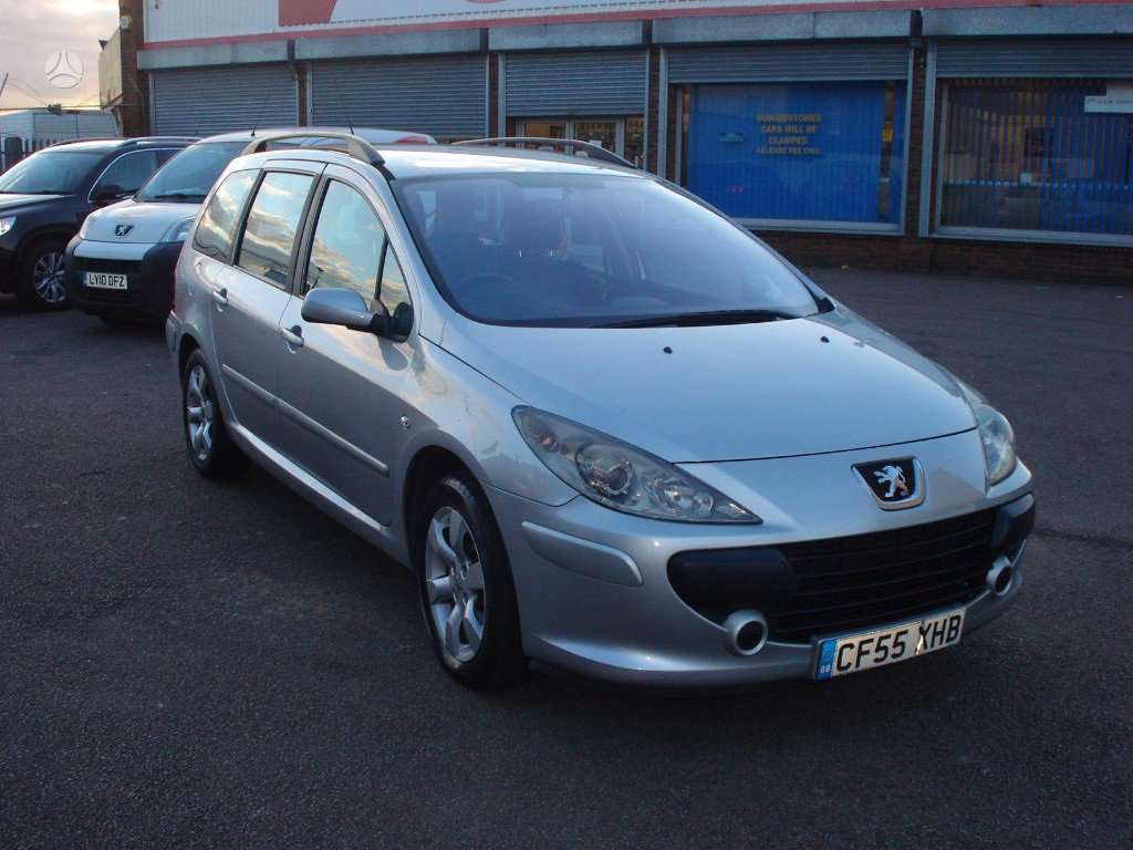 Peugeot 307. 1,6hdi     eišiškių pl. 76b, vilnius  didelis