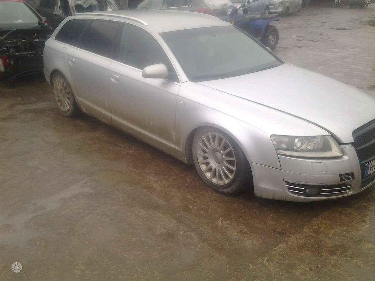 Audi A6. Pneumo pakaba...