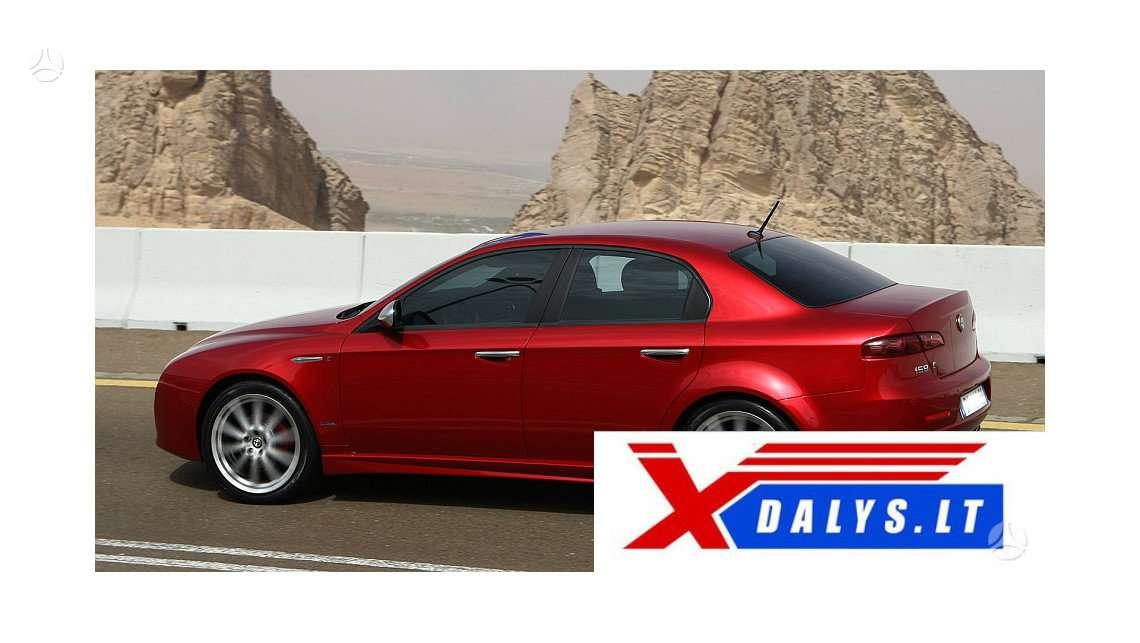 Alfa Romeo 159 dalimis. Www.xdalys.lt   bene didžiausia naudotų
