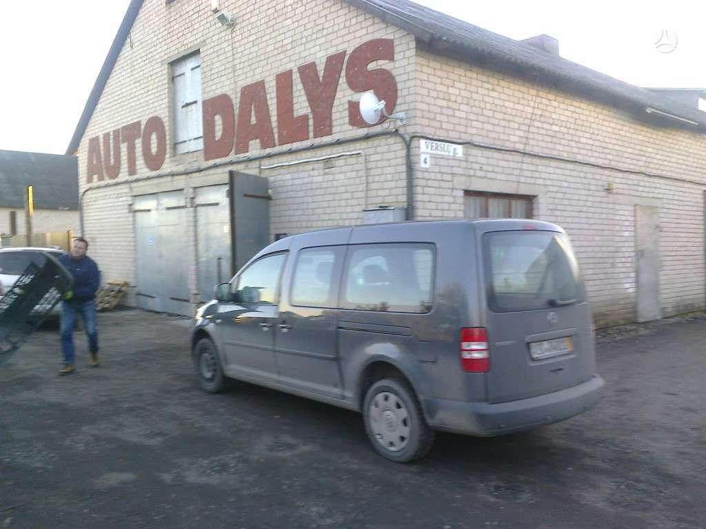 Volkswagen Caddy dalimis. Visu vw dalys  autoservisas padangu