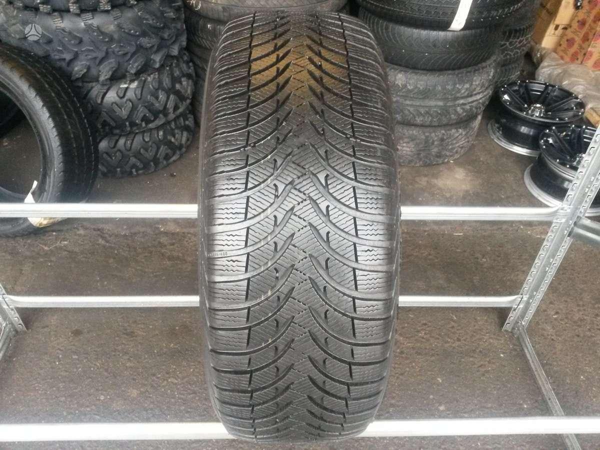 Michelin Alpin A4 apie 8,5mm, Žieminės 225/55 R17