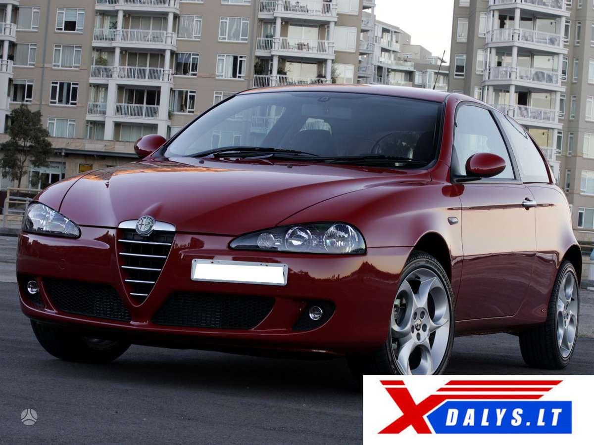 Alfa Romeo 147 dalimis. Www.xdalys.lt   bene didžiausia naudotų