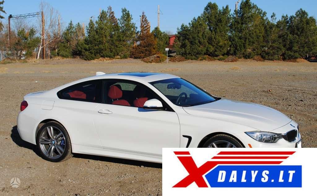 BMW 435 dalimis. Jau dabar e-parduotuvėje www.xdalys.lt jūs
