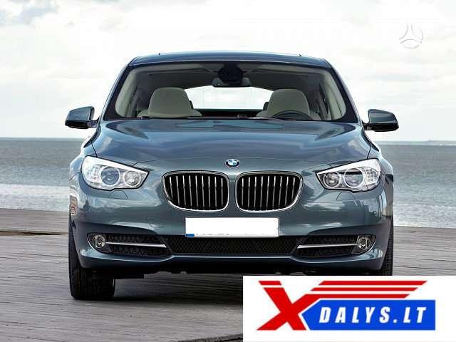 BMW 530 Gran Turismo dalimis. Jau dabar e-parduotuvėje www.