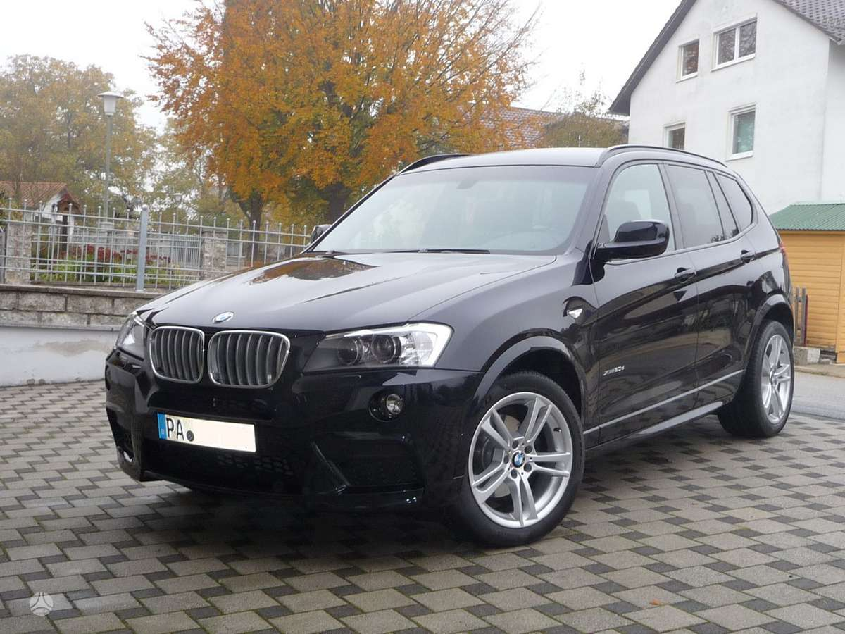 BMW X3. Tik naujų originalių automobilių detalių užsakymai