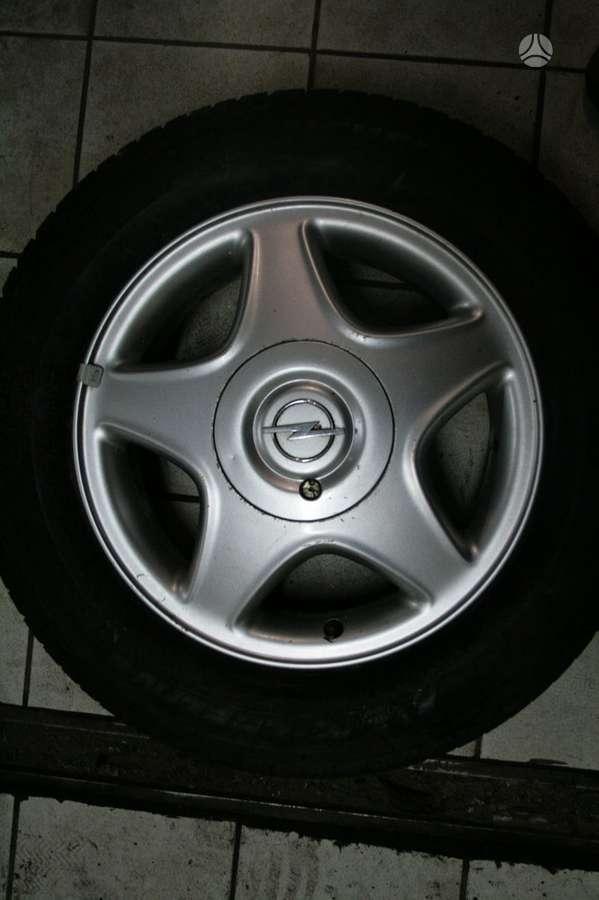 Opel, lengvojo lydinio, R15