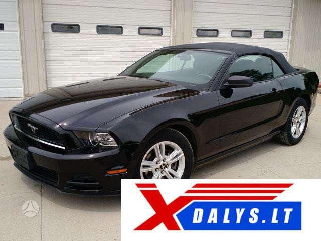 Ford Mustang dalimis. Jau dabar e-parduotuvėje www.xdalys.lt jūs