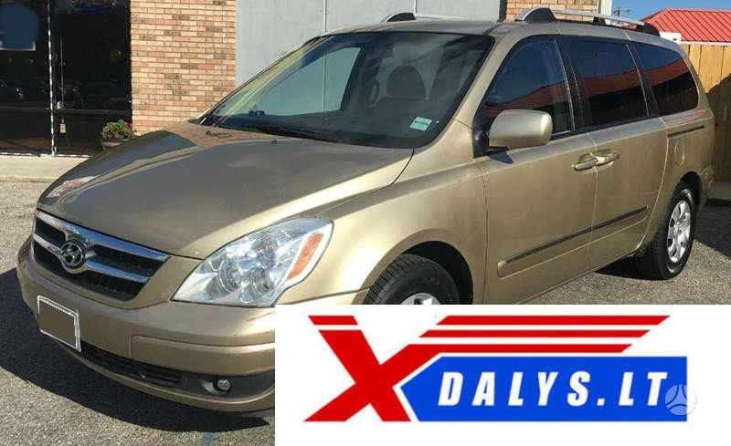 Hyundai Entourage dalimis. Jau dabar e-parduotuvėje www.xdalys.