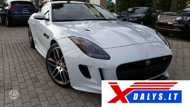 Jaguar F-Type dalimis. Jau dabar e-parduotuvėje www.xdalys.lt jū