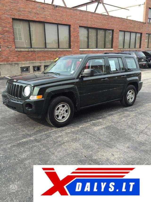 Jeep Patriot dalimis. Jau dabar e-parduotuvėje www.xdalys.lt jūs