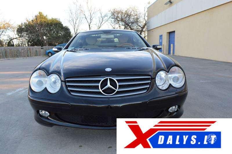 Mercedes-Benz SL500 dalimis. Xdalys.lt  bene didžiausia naudotų