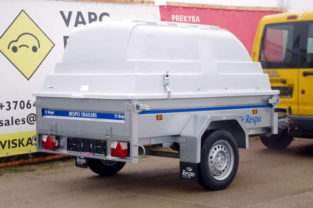 Respo 750M201L125PLH, lengvųjų automobilių priekabos