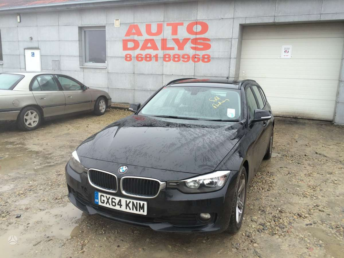 BMW 3 serija. El bagazine