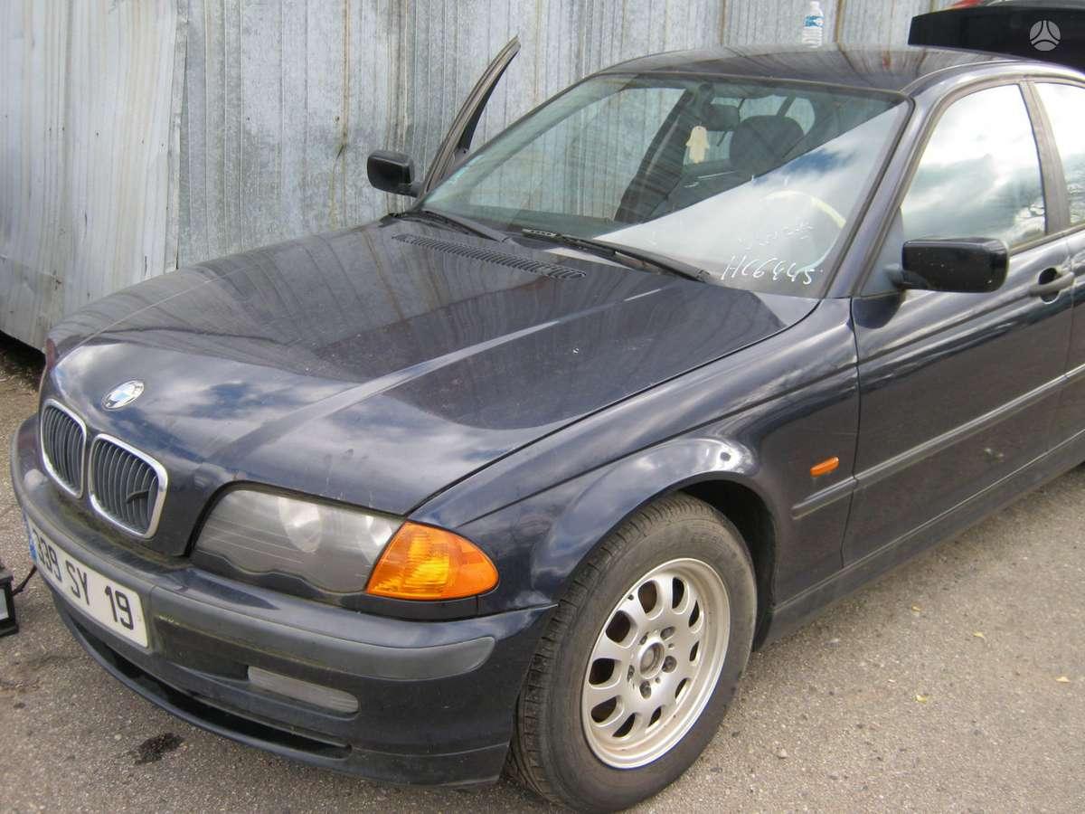 BMW 320 dalimis. Rida 160 t km.r15 originalus ratai.dar  vienas