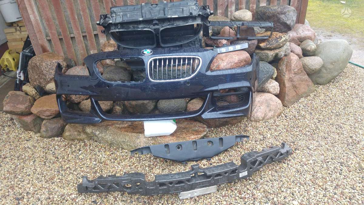 BMW 6 serija. F 10 m5 priekinis bamperis,f10 m-paket pr.bamperis,