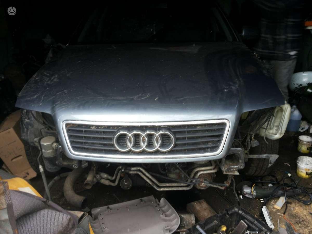 Audi A6. Variklis parduodamas dalimis