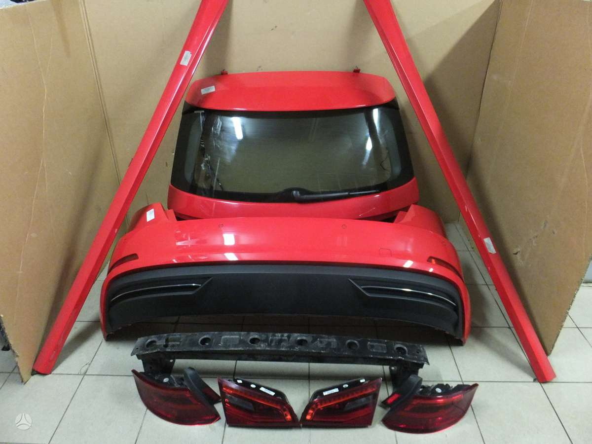 Audi A3. Audi a3 8v e-tron sportback galas. yra visas