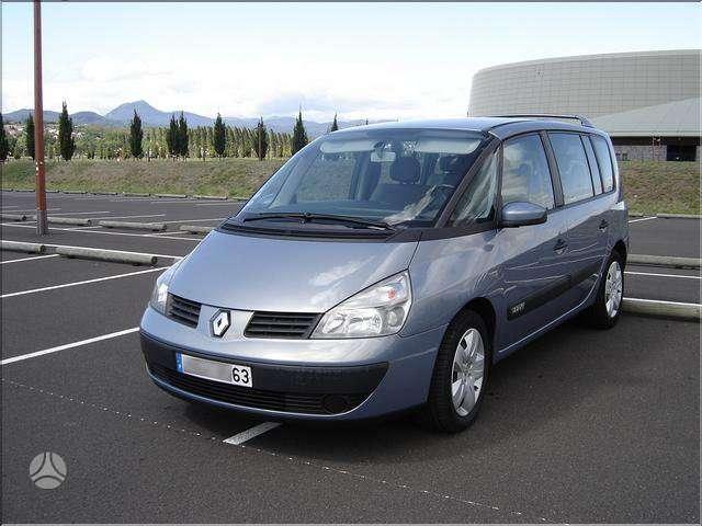 Renault Espace. 1.9dci skambinti 869136489,867391206
