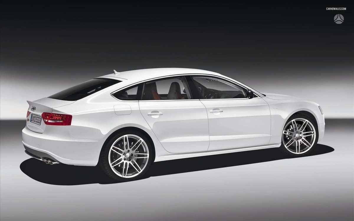 Audi A5 SPORTBACK. Naujų originalių automobilių detalių už