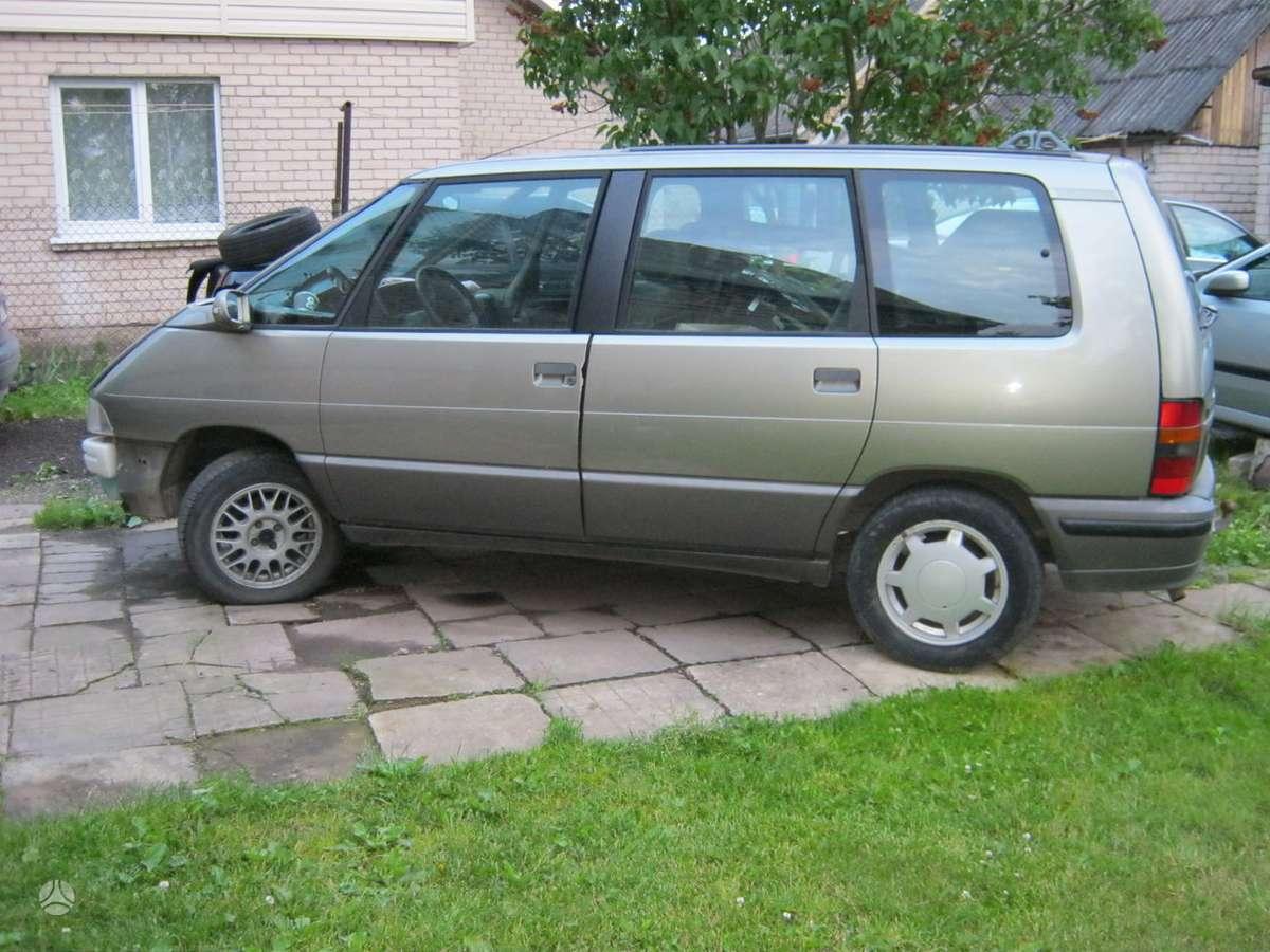 Renault Espace dalimis. Originalus kablys.