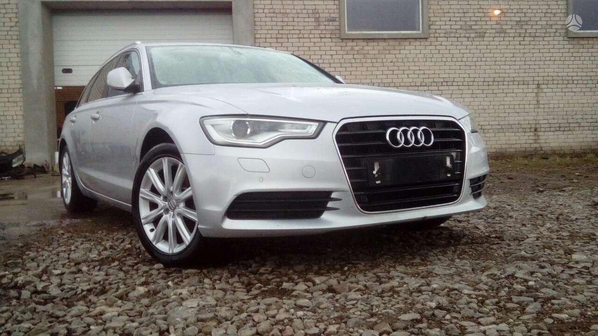 Audi A6 dalimis. Naujai ardomas automobilis - 2.0 l tdi, 140 kv,