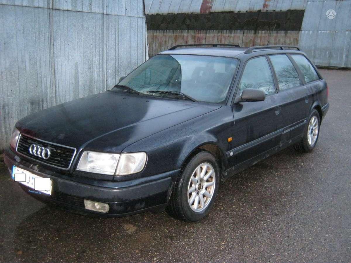 Audi 100 dalimis. Turime  2.0 85kw. 2.3 98 kw.ir 2.6  quatro a6