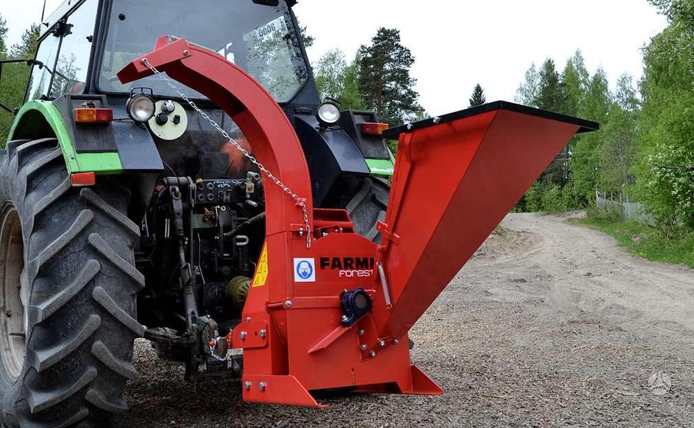 Farmi CH100/180/260/380, smulkintuvai / skaldyklės