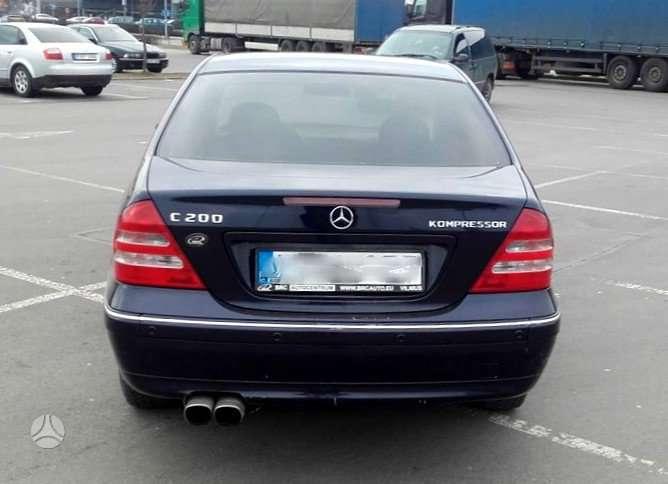 Mercedes-Benz C klasė. Mercedes-benz c klasės varikliai ir pavarų