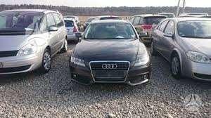 Audi A4 dalimis. Salonas pusiau oda!!