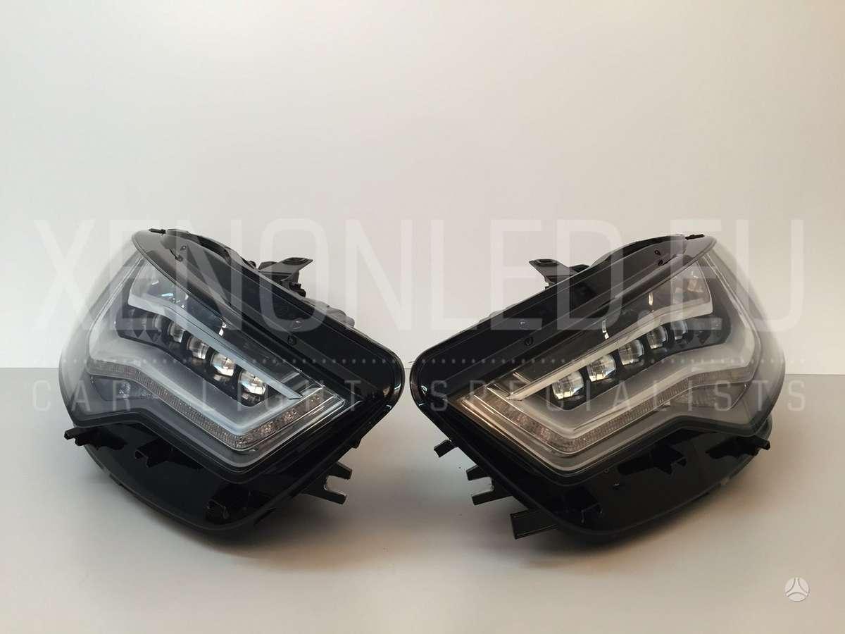Audi A6. Audi a6/s6 4g/c7 2011-2014 (full led žibintai)