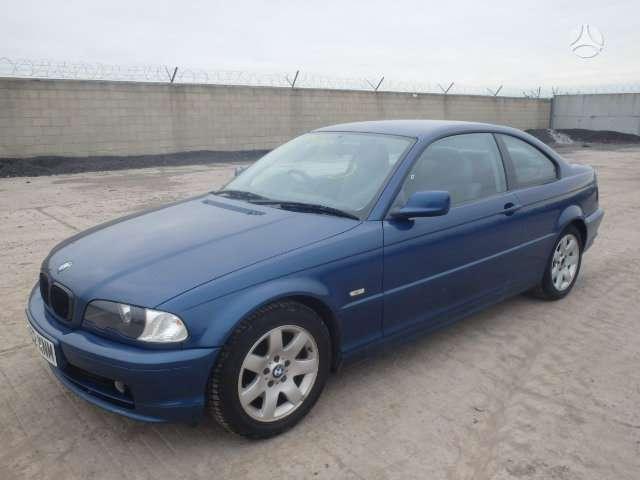 BMW 320. Bmw 318 2002m  cupe ,lieti ratai,kondicionierius,dalimis