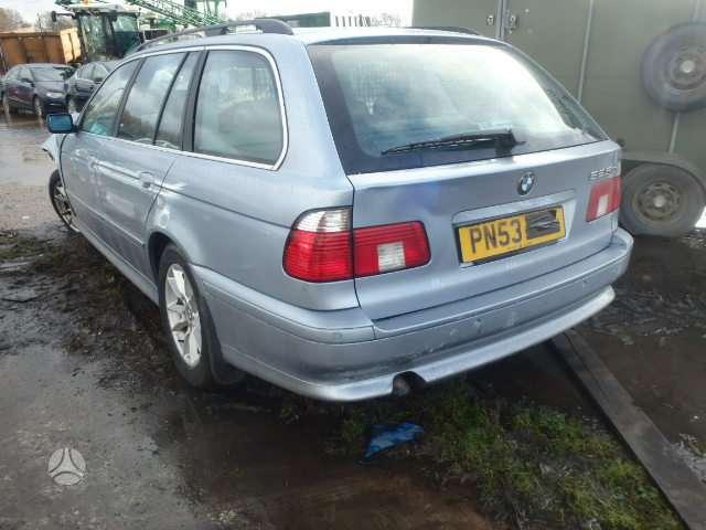 BMW 525. Bmw 525 2002m universalas, lieti ratai , autamatinė